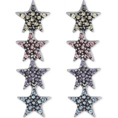 Marc Jacobs Twinkle star stud earrings ($80) ❤ liked on Polyvore featuring jewelry, earrings, studded jewelry, stone jewelry, stone earrings, stone stud earrings and marc jacobs jewelry