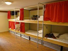 Different hostels around the world