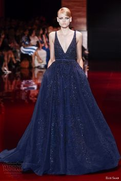 Something blue #Winter #Wedding great MOH DRESS