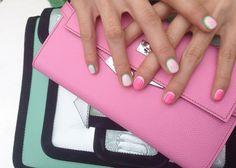 Watermelon nails @onnu_nail #bold #springnails