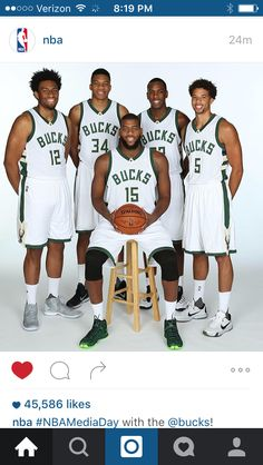 2015-2016 Milwaukee Bucks - media day. Bill Stocks · Fear the Deer 3fb2c0a85