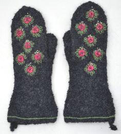 Ullcentrum Stick O, Mittens, Knit Crochet, Maj, Hair Beauty, Embroidery, Knitting, Felting, How To Make