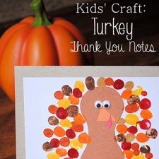 Turkey Thank You Card