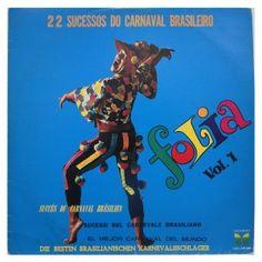 #Folia Vol. 01- 22 #sucessos do #carnaval #Brasileiro - #vinil #vinilrecords #temas