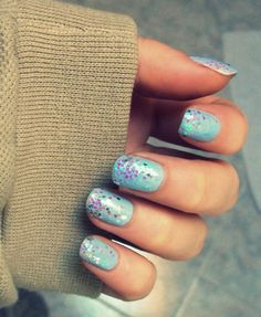 Yes, I'm currently obsessed with glittery nails. Why do you ask?