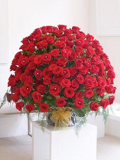 WOW! 200 Red Rose Arrangement - Interflora