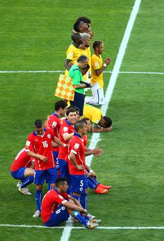 Brazil vs Chile - June 28, 2014 #wc2014 #worldcup #worldcup2014