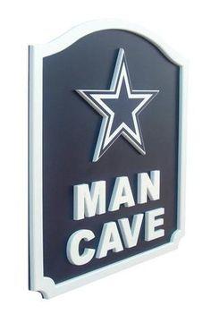 Dallas Cowboys Man Cave Shield Art Sign