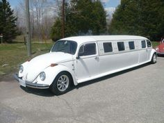 """The """"Magic Limo""""? This classic VW is certainly no bug. More like a caterpillar! If you're after car or limousine service in Charleston SC, please consider Carolina's Executive Limo Line http://www.celimoline.com or call us 843.564.3456"""