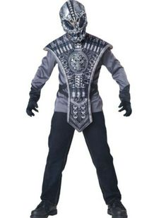 GTH Boy's Alien Warrior Kids Child Fancy Dress Party Halloween Costume, S * Additional details @ Alien Halloween, Skeleton Halloween Costume, Halloween Skeletons, Halloween Costumes For Kids, Vintage Halloween, Halloween Party, Vintage Witch, Halloween Stuff, Halloween Makeup