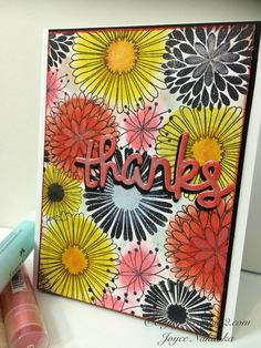 Faber-Castell Design Memory Craft™ Coloring with Gelatos® Tutorial available http://enjoyscrappin2.com