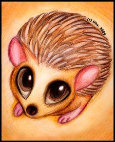 Hedgehog by Oha.deviantart.com