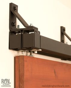 Bypass Side Mount in Black - i need this, ceiling mount but at $1000 just for hardware, not even the doors, that's gonna be a hard sell