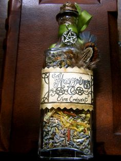 ✯ Happiness Blend Herbal Crafts.. Ingredients: Lavender, Rosemary, St. Johns wort, Marigolds, and Sandalwood. Does: Promote Love and Happiness. :: From A Natural Witch- Grimoire of Life and Practice ✯