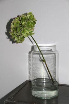Glass jar from Tine K Home www.inreda.com Glass Jars, Vase, Home Decor, Products, Glass Pitchers, Decoration Home, Room Decor, Vases, Home Interior Design