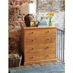 Georgian Oak 2 3 Chest of Drawers 605.002 Quality wooden furniture at great low prices from PineSolutions.co.uk. Get Free Delivery and Exchanges on all orders. http://www.MightGet.com/january-2017-11/georgian-oak-2 3-chest-of-drawers-605-002.asp