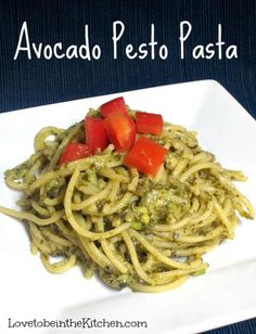 Avocado Pesto Pasta