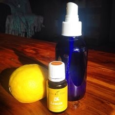 Lemon Highlights Recipe! 1 - 4oz glass spray bottle 20 drops of Lemon essential oil purified water Put water & Lemon essential oil drops into glass spray bottle. Screw on top & shake. Spray hair as often as you wish & play in the sunshine!