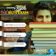 Well Known Myths About The IELTS Exam When you prepare for the IELTS test, it's pretty much of an instinct to gather opinions and point of views online or in person about how the test is. But not everything you hear or read upon will always be true. This is why an IELTS online training or live reviews are far more advisable. #jroozinternational #ieltsonlinepreparation #ieltsonlinereview #ieltsonlinetraining #ieltsonlinecoaching #ieltstestpractice