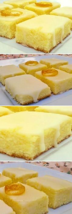 Cocina – Recetas y Consejos Lemon Desserts, Köstliche Desserts, Delicious Desserts, Yummy Food, Brownie Recipes, Cake Recipes, Dessert Recipes, Cake Bars, Gateaux Cake