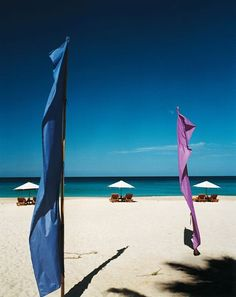 Phuket Island's Naithon Noi, one of the settings for the 2000 movie The Beach, is again picture-perfect. The chaises belong to the Andaman White Beach Resort, a hotel/villa complex that has largely been rebuilt