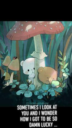 Cute Cartoon Images, Cute Couple Cartoon, Cute Cartoon Wallpapers, Chibi Cat, Cute Chibi, Cute Bear Drawings, Kawaii Drawings, You Are My Moon, Cute Kawaii Animals
