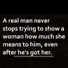 I am so lucky that I have a real man <3