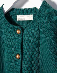 ZIPPY Baby Girl  Knitted Cardigan #ZYFW16 #5797091 Find it here!