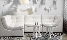 Cloud Modular Sectional - White | Sectionals | Furniture | Z Gallerie