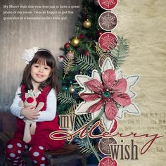 My Merry Wish Collection Mini 2 Digital Scrapbooking Kit by Amanda Fraijo-Tobin | ScrapGirls.com
