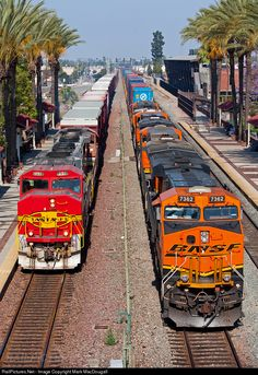 RailPictures.Net Photo: BNSF 131 BNSF Railway EMD GP60M at Fullerton, California by Mark MacDougall