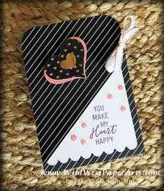 Heartfelt Love Notes alternate idea from Rae Harper-Burnet and WildWestPaperArts.com Play with us! #paperpumpkin #handmadecard #valentine