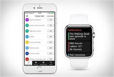 App Hooks  Hooks é um novo aplicativo para dispositivos da Apple, disponível no iTunes, a principal característica é para lembrá-lo de algo que está prestes a acontecer e que você está interessado.