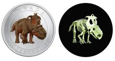 This is pretty cool. would make an awesome quarters game. if you cant tell, its Canada's new quarter and glows in the dark