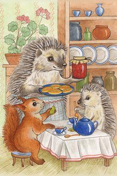 Просмотреть иллюстрацию 3... из сообщества русскоязычных художников автора Захарова Наталия в стилях: Классика, нарисованная техниками: Другое.