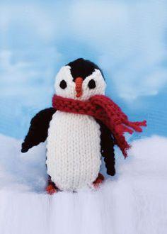 Pingouin en tricot