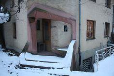 Goetheanum in Dornach by Rudolf Steiner Entrance