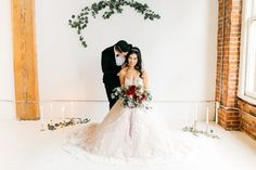 Ceremony Decor with Candles and Greenery