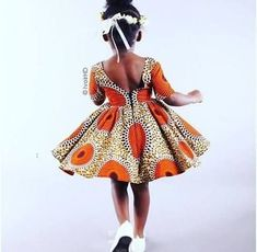 African Fashion Is Hot African Dresses For Kids, African Print Dresses, African Print Fashion, Africa Fashion, African Fashion Dresses, Girls Dresses, African Attire, African Wear, African Women