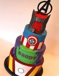 Resultado de imagen para torta avengers
