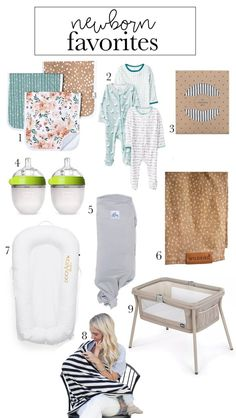 must haves for a newborn baby