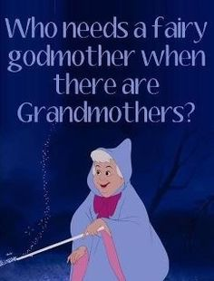 """Grandma continued...  But she was always a motherly figure. Whenever my grandfather would get grouchy with us she would come and defend us, """"George, be nice!"""" You know how grandmothers are supposed to spoil their grandchildren? She is the best at it."""