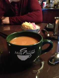 Milk and Sugar Cafe ☕ Such a quaint place!