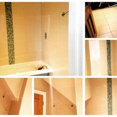 #sdbtilingltd #lb_interiors #bathroom #refit #happy #customer #mosaic #gloss Tiling, Decor Interior Design, Mosaic, Bathtub, Interiors, Bathroom, Happy, Standing Bath, Washroom