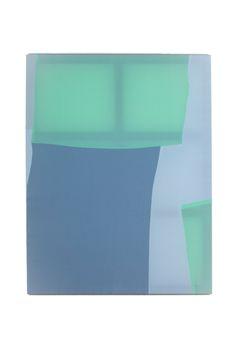 Palette 014, 112 x 146 x 2.7cm, fabric on canvas, 2014© Yunji Jang