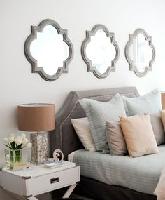 You don't need to spend a fortune or to be an interior designer to create a glamorous and luxurious boudoir.