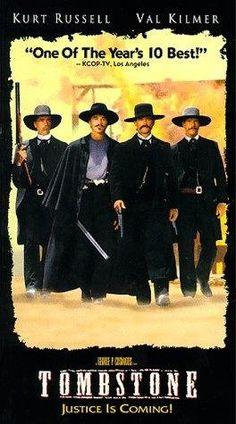 Tombstone Wyatt Earp (Kurt Russell) and his brothers, Morgan (Bill Paxton) and Virgil (Sam Elliott).plus Doc Holliday (Val Kilmer). See Movie, Movie Tv, Peliculas Western, Film Mythique, Films Cinema, Val Kilmer, Movies Worth Watching, Poster S, Western Movies