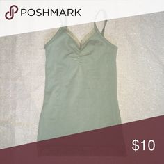Buckle bke mint sage green tank XS The color is called wasabi. Size is XS. Excellent condition. Smoke free pet free home. Bundle for more savings. BKE Tops Tank Tops
