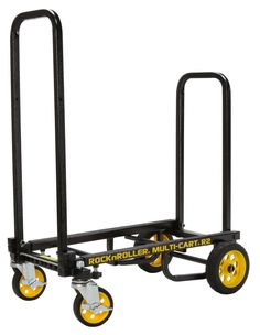 Rock-N-Roller (Micro) Folding Multi-Cart/Hand Truck/Dolly/Platform to Telescoping lbs. Small Camper Trailers, Small Campers, Hand Cart, Boat Trailer, Trailer Diy, Polyurethane Foam, Rock N, Gliders, Footprint