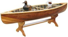 Classic Canoe Coffee Table